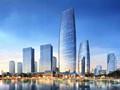 四川45层超高玻璃幕墙办公大厦建筑设计方案