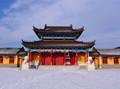方案杭州知名寺庙复建规划文本及单体古建设计(含CAD、灯光、实景及施工照片、陈设品设计等)