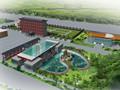 陕西新建门式钢架厂房施工组织设计(二层框架)