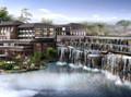 某地九层山湖酒店建筑施工图(含设计说明)