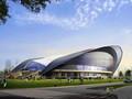某地生态社区会展中心建筑设计施工CAD图